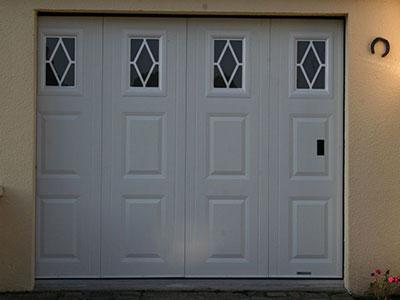 Installation porte de garage automatique ou manuelle sur epernay reims en champagne ardennes - Porte de garage electrique ...